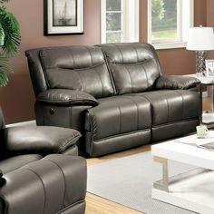 companies wellington leather furniture promote american. Furniture Of America Varic Reclining Loveseat - IDF-6128BR-LV Companies Wellington Leather Promote American
