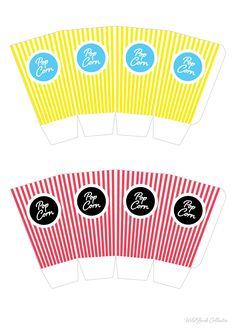 Cajas popcorn