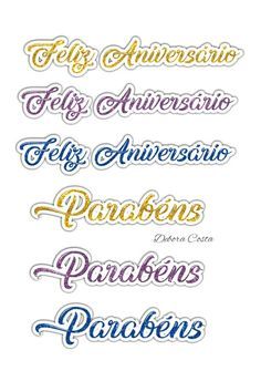 Ideas Aniversario, Birthday Quotes, Cake Toppers, 3 D, Lily, Clip Art, Lettering, Google, Happy Birthday Banners