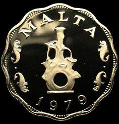 1979 MALTA 5 Mils PROOF COIN Scarce Earthen Lampstand Gem Coin AMAZING!  http://myworld.ebay.com/jstor204