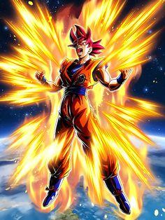 Anime Dragon Ball Super, Dragon Ball Goku, Goku Super Saiyan