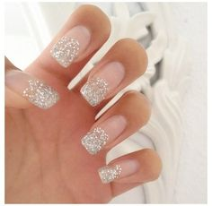Glitter nails find more fashion nails desgins on gallery.buzznails.com