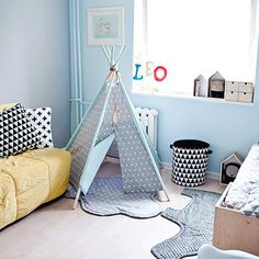 TEEPEE SET teepee with 5 poles plywood feather rounded mat