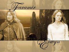 Faramir and Eowyn - faramir-and-eowyn Wallpaper