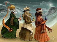 Los 3 Reyes Magos (Melchor, Gaspar y Baltasar)                                                                                                                                                                                 Más