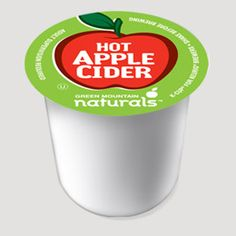 Keurig Hot Apple Cider~~Yum! I love to pop one of these in on a cold winter night!