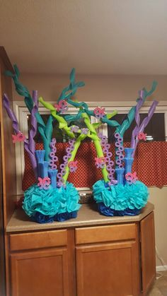 Little Mermaid Pool Party Colorful Kid's Pool Party Decorations Shelterness. A Must Sea Mermaid Party Evite. Little Mermaid Theme Kids Birthday Party Party Planner . Little Mermaid Birthday, Little Mermaid Parties, The Little Mermaid, Mermaid Baby Showers, Baby Mermaid, Mermaid Pool, Pool Party Decorations, Under The Sea Decorations, Pool Party Centerpieces