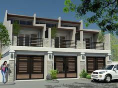 Townhouse with floor area of 287 sqm lot area of 138 sqm in Pasig City near mercury drug, petron and bpi with 5 bedroom 4 bathroom for sale for only Php Brgy. Home Building Design, Building A House, Philippine Houses, Townhouse Designs, Duplex House, City Living, Real Estate Companies, Condominium, Apartment Design