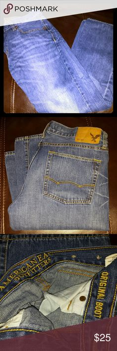 EUC American Eagle jeans! These were only worn 2 or 3 times. EUC ?? American Eagle Outfitters Jeans Bootcut