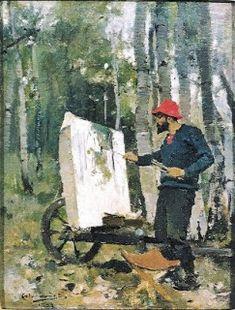 A Arte em Portugal: Columbano Bordalo Pinheiro - Retrato de Artur Loureiro (1882)