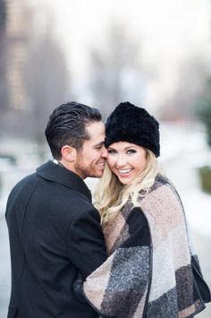 bundle up and get mushy for some super cute winter engagements by Jill Tiongco Photography http://www.weddingchicks.com/vendor-guide/jill-tiongco-photography/