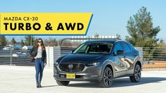Boosted & AWD 2021 Mazda CX-30! Fuel Efficiency, Oak Tree, New And Used Cars, Mazda