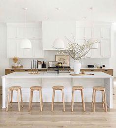 Home Interior Modern .Home Interior Modern Home Decor Kitchen, Kitchen Interior, New Kitchen, Home Kitchens, Kitchen Ideas, Kitchen Decorations, Decorating Kitchen, Kitchen Trends, Crisp Kitchen