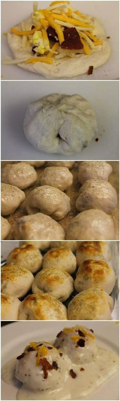 Omgggg sounds like breakfast heaven in my mouth! Making these tomorrow! Stuffed…