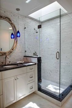 Frederick + Frederick Architects Architects & Designers - Bathroom, Wetmore Renovation, Guest Bath