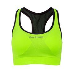 Crop Top Women Fitness Sports Bra Push Up Breathable Yoga Bras Underwear Running Sports Bra