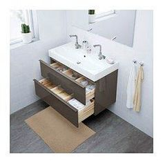 38 trendy bathroom ikea godmorgon home Ikea Bathroom Vanity, Bathroom Storage, Modern Bathroom, Small Bathroom, Basement Bathroom, Bathroom Cabinets, At Home Furniture Store, Modern Home Furniture, Vanity Countertop