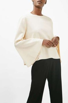 Flared Sleeve Top by Boutique