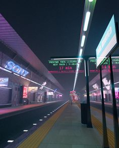 This is my first render after doing the doughnut tutorial. It's a cyberpunk version of a metro station from Madrid. Aesthetic Japan, Neon Aesthetic, Night Aesthetic, Aesthetic Photo, Aesthetic Pictures, Cyberpunk Aesthetic, Cyberpunk City, Metro Station, Scenery Wallpaper