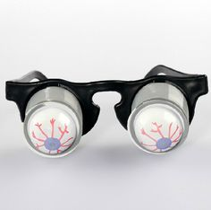 1 Piece Funny Practical Jokes Drop Eyeball Pop Out Eye Glasses Prank Trick Novelty Toy Classic Party Gag