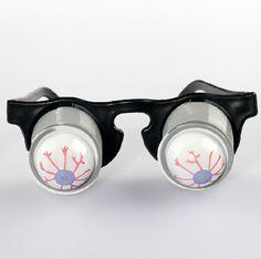 1ピース面白い実用ジョークドロップ眼球ポップアウトメガネいたずらトリックノベルティおもちゃクラシックパーティーギャグ