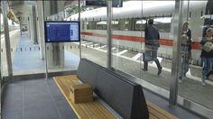 blom&moors - Nieuw stationsmeubilair DB - Pilot Wolfsburg Hbf