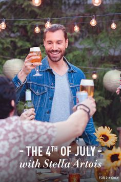 Mix things up this Independence Day — take indoors outdoors, invite neighbors you've been meaning to meet, have friends bring their specialty dish. Continue a summer of new ideas, adventures, and culinary creativity. And raise a Chalice to spending July 4th with those you care about.
