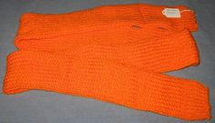 Blaze Orange Scarf - for all those hunters out there - $23.50
