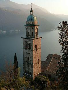 Morcote: Santa Maria del Sasso