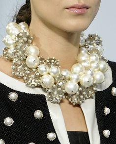 Chanel s/s 2013  polkadots n pearls