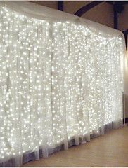 Curtain Lights SOLLA 600 LEDs Window Curtain Icicle Lights LED String Fairy Lights Linkable Design, 8 Modes,Daylight White, Window Lights for Indoor Bedroom/Wedding/Party/Christmas Led Icicle Lights, Led Curtain Lights, Starry Lights, Icicle Lights Bedroom, Backdrop Lights, Window Lights, Wall Lights, Backdrop Stand, Twinkle Lights