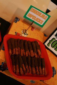Chocolate Dipsticks