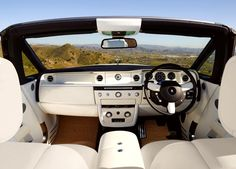 Rolls Royce Phantom Drophead Coupe Interior
