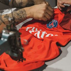 PSG Launch 16/17 Nike Away Kit from 'LA Galerie'