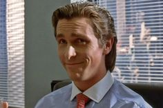 A chillout remix with American Psycho quotes over the top. American Psycho Quotes, New York Movie, Easton Ellis, Literary Characters, Story Characters, Christian Bale, Sociopath, Psychology Facts, New Movies