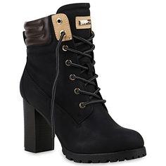 Warm Gefütterte Damen Stiefeletten Worker Boots Outdoor Schuhe  Amazon.de   Schuhe   Handtaschen ca79fe8c18