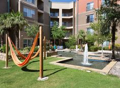 Go for a leisurely swing in one of the hammocks.