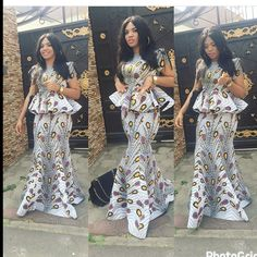 """552 Likes, 3 Comments - Ankara Collections (@ankaracollections) on Instagram: """"Nice style @bibichristopher #ankaracollections #ankarachic"""""""