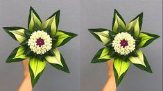 ดอกไม้ใบเตย 🍀| แจกันดอกไม้ใบเตย ตกแต่งบ้าน หอม สวยงาม | DIY Pandan leaves | MeeDee DIY - YouTube Paper Flower Garlands, Flower Decorations, Paper Flowers, Palm Tree Flowers, Diy Flowers, Ikebana Arrangements, Floral Arrangements, Baby Crafts, Diy And Crafts