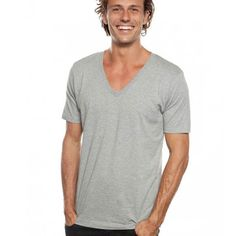 CANYON | organic cotton clothing | mens v neck blank tshirt