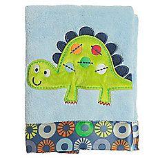 Bananafish® Little Dino Crib Blanket