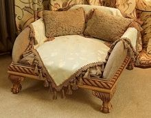 Luxury Windsor Pedestal Pet Bed - such a cool dog bed, and it's ONLY $1,780.00!!!  OMG!