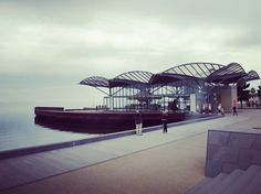 A famous tourist area in Geelong Australia. #geelongwaterfront #visitmelbourne #architecture #australia by zatil.travels http://ift.tt/1JtS0vo
