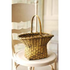 Country Village Shoppe - Low Country Goldenrod Basket, $61.95 (http://www.countryvillageshoppe.com/low-country-goldenrod-basket/)