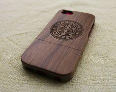 Starbucks wood iPhone 5C https://www.etsy.com/es/listing/189998830/wood-iphone-5c-case-natural-iphone-5c