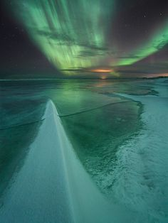 "unwrittennature:  ""Snow Dagger"" by: Örvar Atli Borgeirsson"