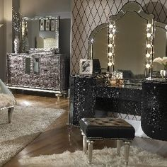 makeup vanity station. SERIOUSLY?! this is tht twinkle ive been missing♥