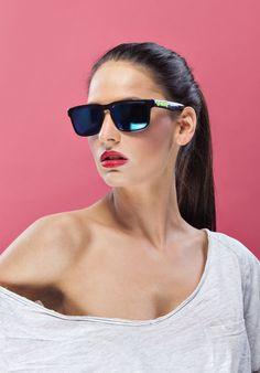 MEATFLY SUNRISE SUNGLASSES 2015 Model: Hana Vagnerova