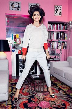 Ines de la Fressange: YSL's muse and talented designer in her own right who looks incredible at age nearly 58! | Girls Guide to Paris - Most Beautiful Parisian Women