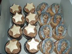 Cupcakes for Cowboy party